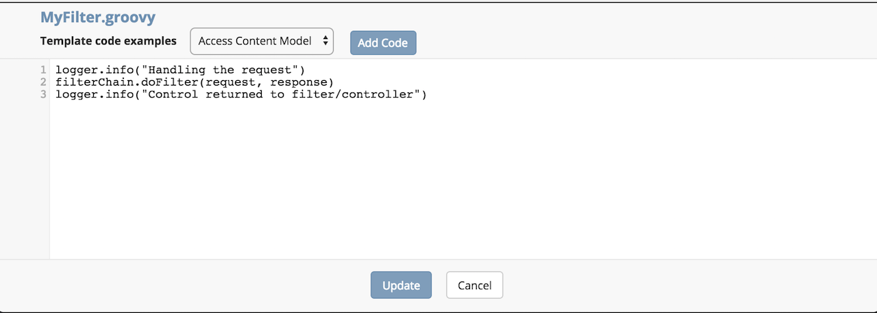 Working With URL Interceptor/Servlet Filters in Crafter CMS
